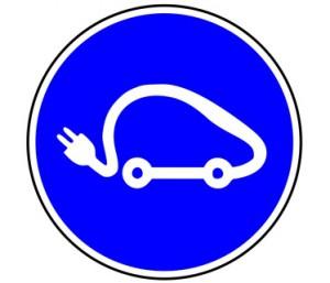 Panneau de Signalisation (Voiture electrique)